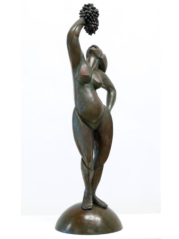Greg James   Grape Sucking Siren Fine Art