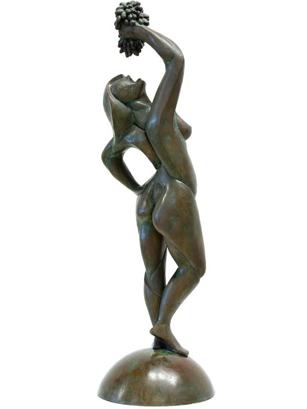 Greg James Grape Sucking Siren Side 2 Sculpture