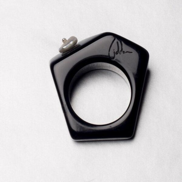 Michela Liddon Abstract Resin Ring