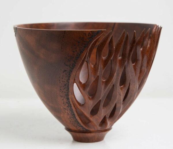 Neil Turner Coral Textures Vase Jarrah
