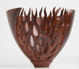 Neil Turner   Coral Textures Vase Fine Art