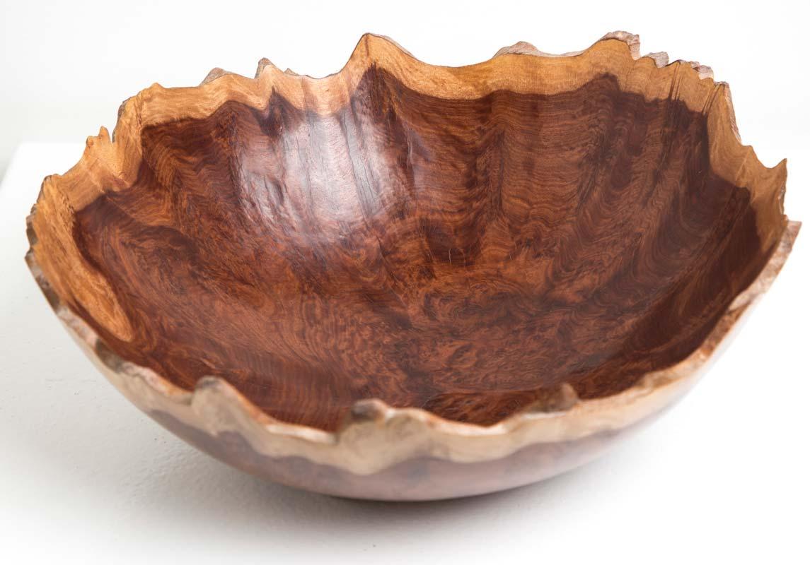 Neil Turner   Red Morrel Bowl Fine Art