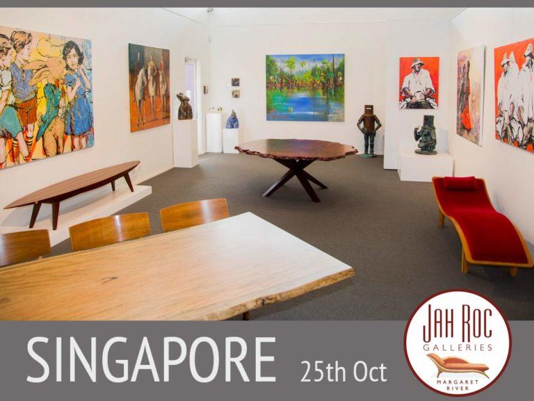 Jahroc Galleries exhibit in Singapore Fine Art
