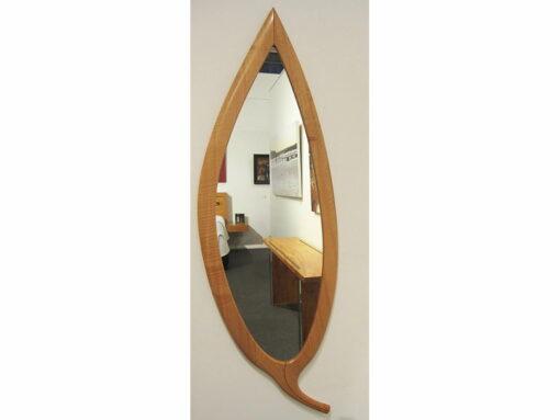 The Leaf Wall Mirror Blackbutt Timber