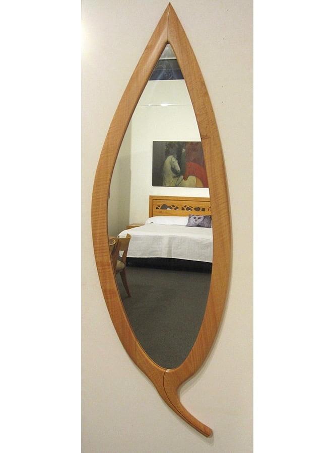 The Leaf Wall Mirror Fine Art