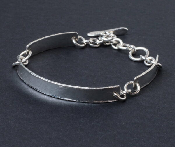 Emma Cotton Bridge Silver Bracelet
