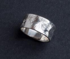 Emma Cotton   Galaxy Carve Ring Fine Art