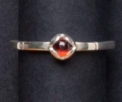 Emma Cotton   Princess Garnet Ring Fine Art