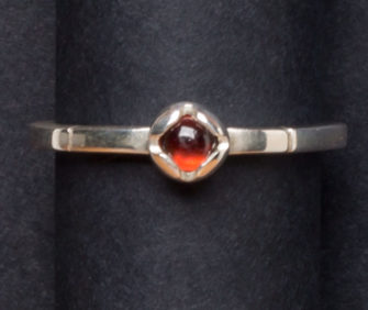 Emma Cotton   Princess Garnet Ring Fine Art