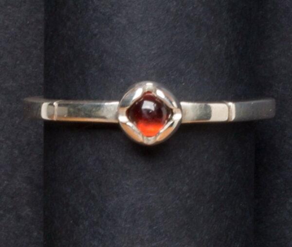 Emma Cotton Princess Garnet Ring
