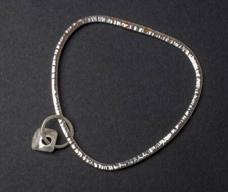 Emma Cotton Saturns Rings Triangle Bangle