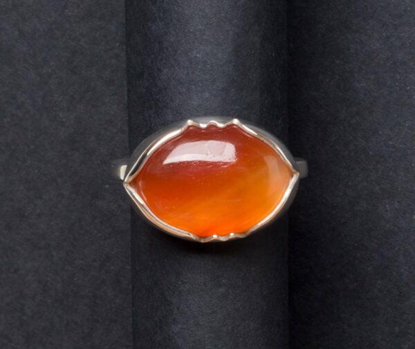 Emma Cotton Sunset Cornelian Ring