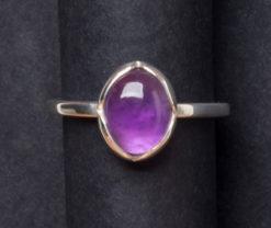 Emma Cotton   Violet Amethyst Ring Fine Art