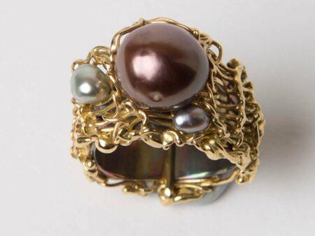 Gemma Baker Fusion Pearl Ring