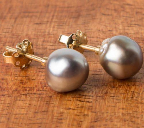 Jane Liddon - Baroque Pearl Studs