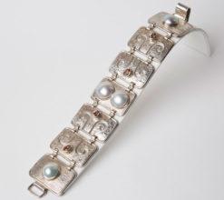 Jane Liddon   Pink Tourmaline Bracelet Fine Art