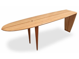 Malibu Blackbutt Hall Table Fine Art