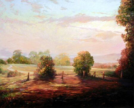 Peter Scott Afternoon Walk Painting
