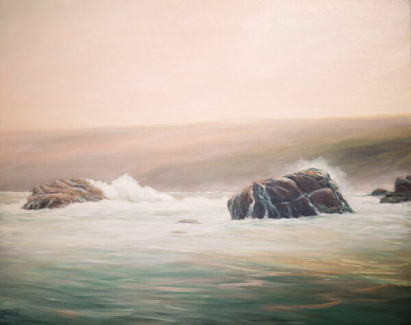 Peter Scott Ocean Swells North Point Painting