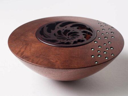Robert Jones Jarrah Pot Pouri Bowl