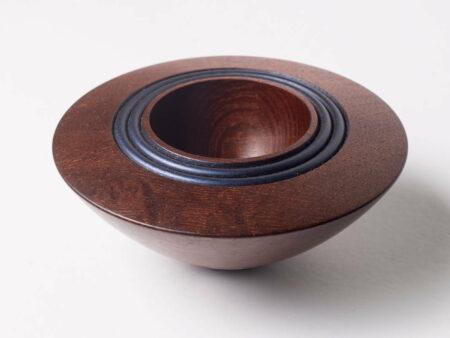 Robert Jones Native Pear Bowl Blue