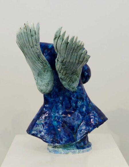 Lauren Rudd A Perfect Day For A Flight 2 Sculpture Back