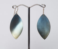 Amilia Adams   Ellipse Pointed Earings Fine Art