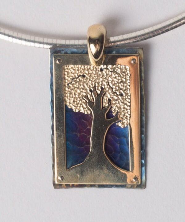 Amilia Adams Jewellery Tree Silhouette Pendant