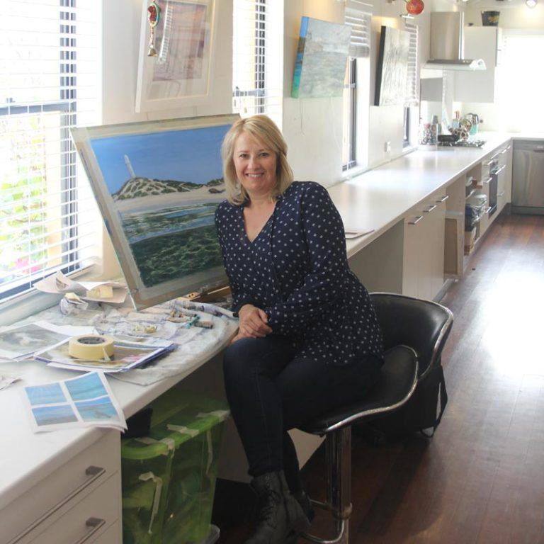 Ann Steer Artist   Up Close & Personal Fine Art