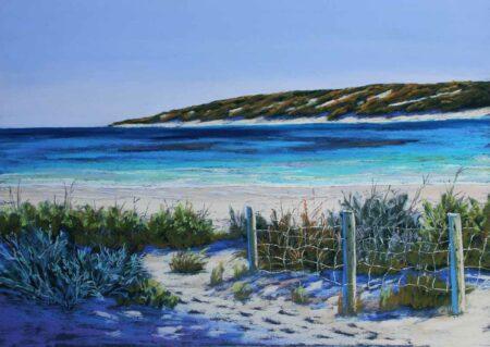 Ann Steer Autumn Hues Yallingup Painting