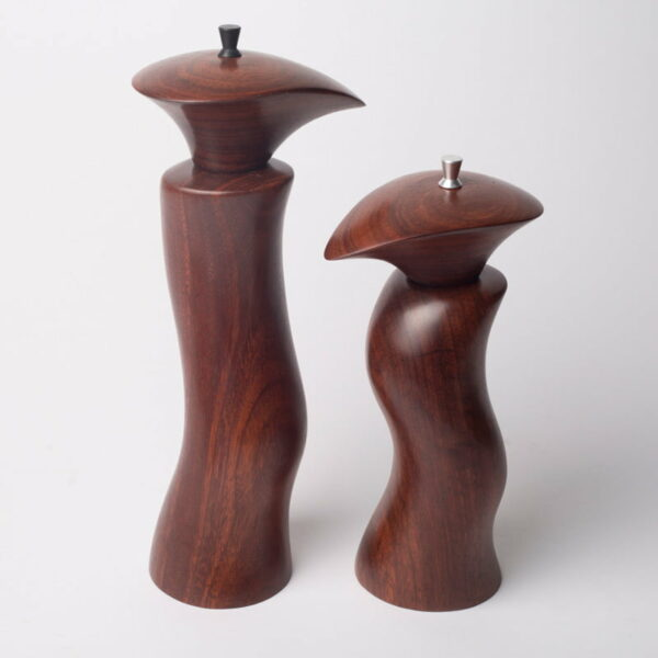 Chris Reid Jarrah Salt And Pepper Grinders