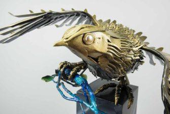 daniel-fisher-spirit-bird-sculpture-detail