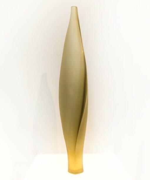 Edols Elliot Bud Sculptural Vase Glass Art