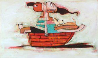 Janine Daddo   Bound for loving Fine Art