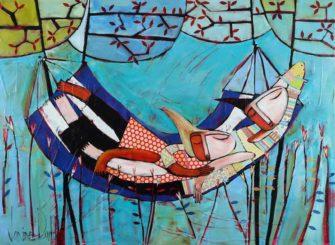 Janine Daddo   Lazy Sunday Fine Art