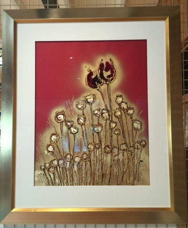 Karen Luciano Cherishing The Moment Painting Framed
