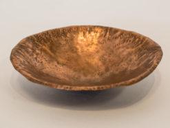 Michelle Gauntlett   Copper Circle Bowl Fine Art