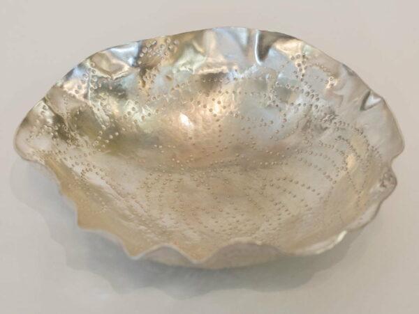Michelle Gauntlett Fine Silver Frilly Bowl