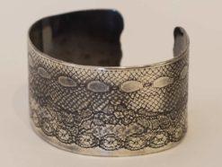 Michelle Gauntlett   Rolled Antique Cuff Fine Art