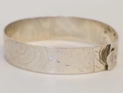 Michelle Gauntlett   Silver Patterned Bracelet Fine Art