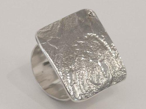 Michelle Gauntlett - Square Texture Ring