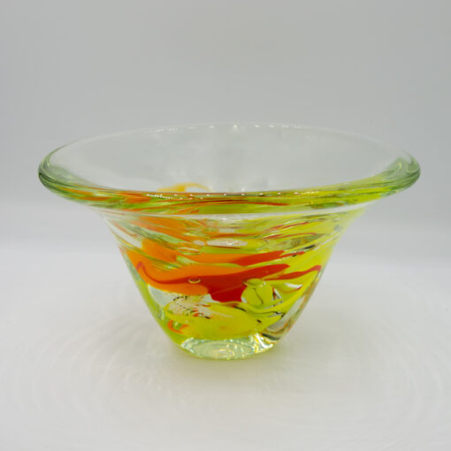 Peter Reynolds A Triangle Bowl Glass