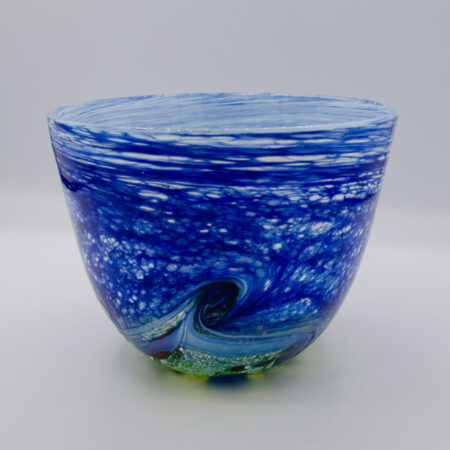 Peter Reynolds Small Landscape Bowl Glass
