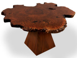 Unique Jarrah Burl Dining Table Fine Art