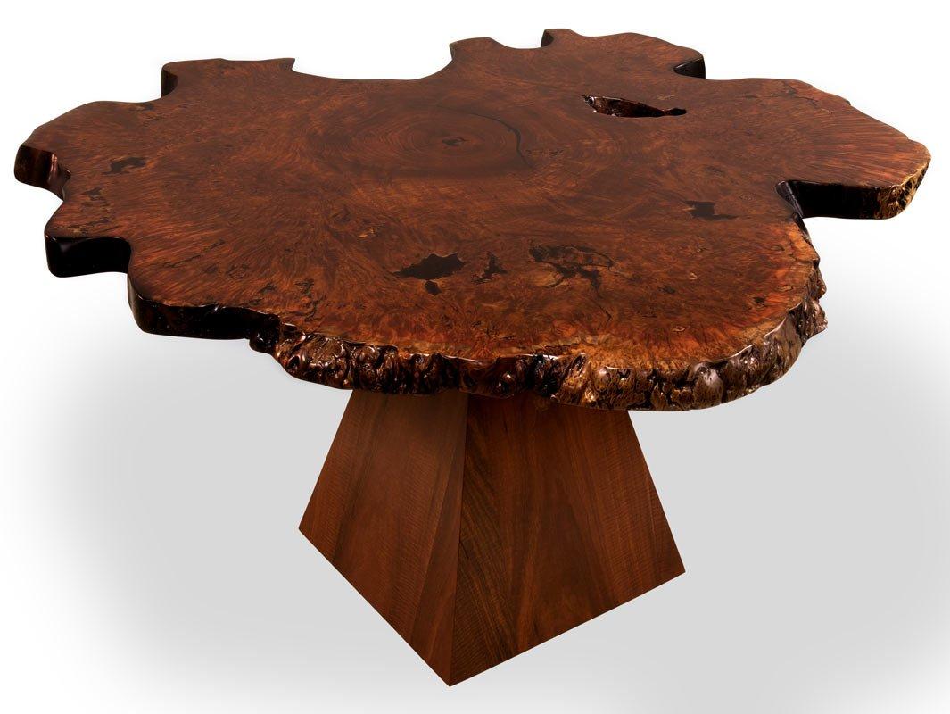 Unique Jarrah Burl Dining Table Fine Furniture Design  : Unique Jarrah Burl Dining Table top from www.jahroc.com.au size 1065 x 800 jpeg 93kB