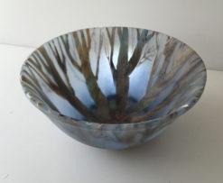 Vivienne Jagger   Forrest Glass Bowl Fine Art