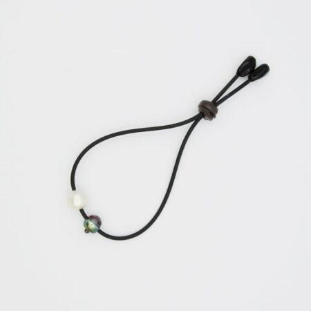 Evevlyn Henschke 2 Pearl Adjustable Bracelet