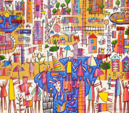 Bruce Earles Leisure Inlet Painting