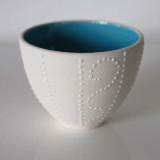 Daiya Gratte Sea Urchin Bowl Blue