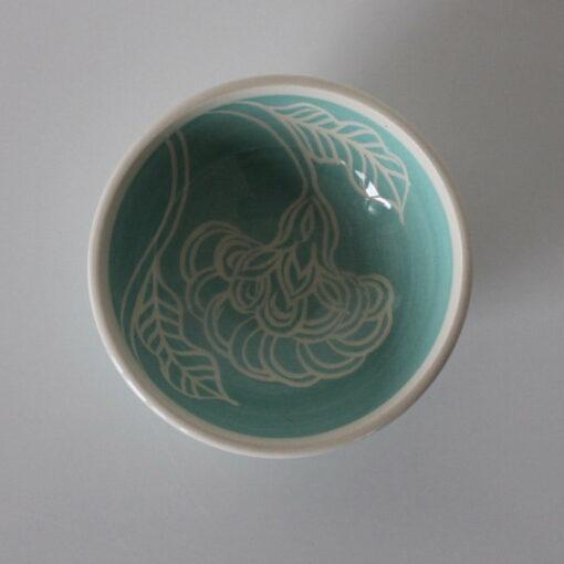 Dariya Gratte Mishima Dish Flower Lighter Blue